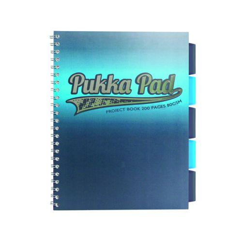 Pukka Electra A4 Jotta Project Book Assorted 8241-ELC