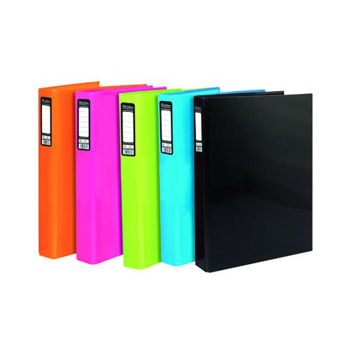Pukka Pad Brights Ring Binder Assorted (Pack of 10) BR-8875