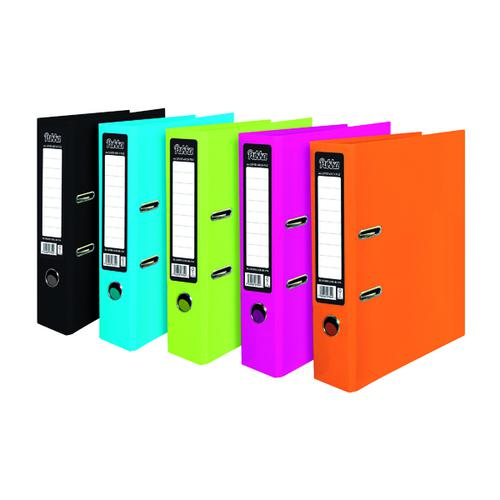 Pukka Pad Brights Lever Arch File Assorted (Pack of 10) BR-8879