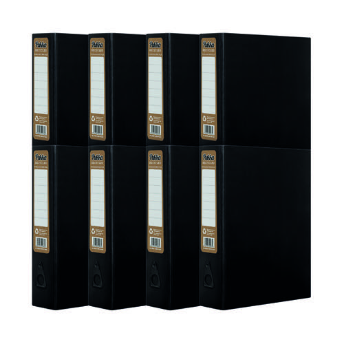 Pukka Recycled Box File Black (Pack of 10) RF-9486