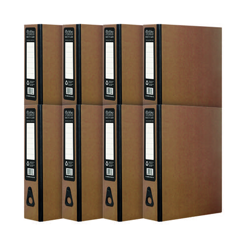 Pukka Recycled Box File Kraft (Pack of 10) RF-9487