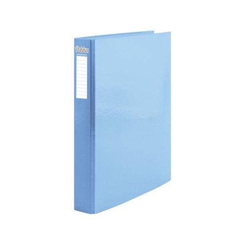 Pukka Pad Pastel Ring Binder Assorted Blue/Pink (Pack of 10) 9056-PST