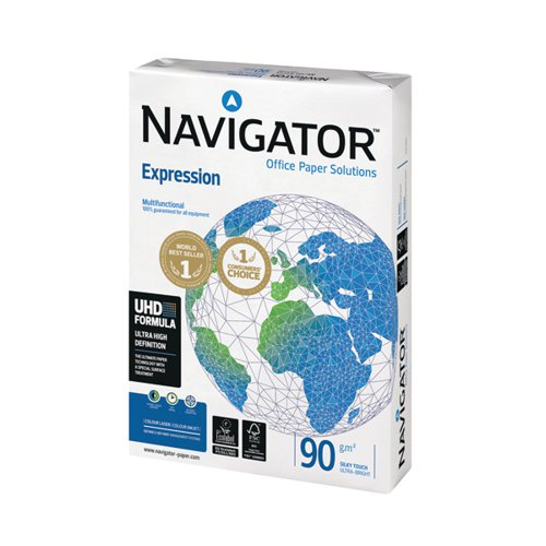 Navigator A3 Expression Paper 90gsm (Pack of 500) NAVA390
