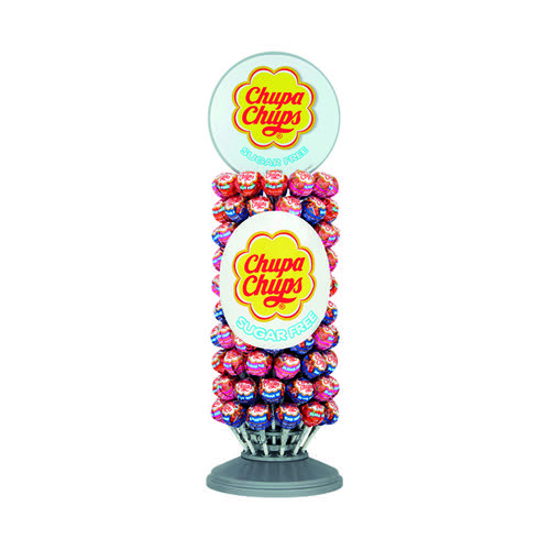 Chupa Chups Sugar Free Lollipops Slim Wheel (Pack of 120) 8403362