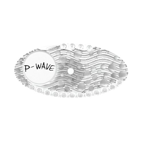 P-Wave P-Curve Air Freshener Clear Mango (Pack of 10) WZCV60MG