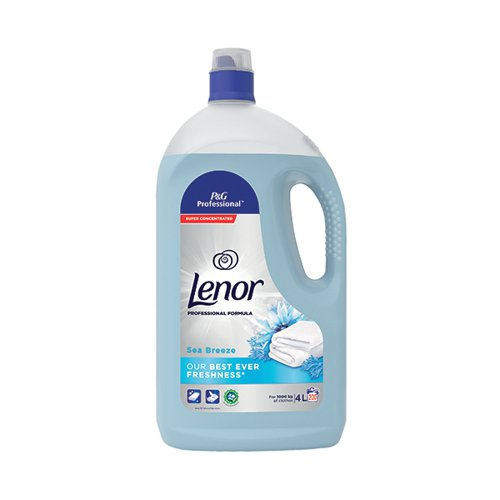 Lenor Linen Care Fabric Softener Sea Breeze 4 Litre 5413149190955
