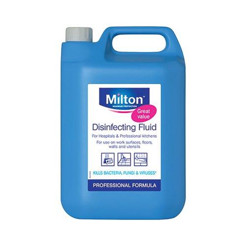 Milton Disinfecting Fluid 5 Litre (The ultimate sterilising fluid) 33613706946626