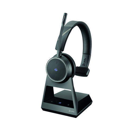 Poly Voyager 4210 Office Headset Base USB-C Cable Bluetooth 214601-05