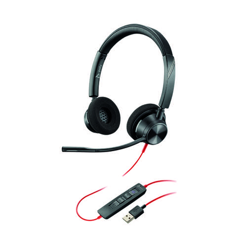Poly Blackwire 3320 Headset Binaural USB-A 213934-01