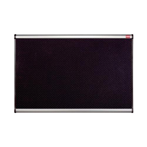 Nobo Prestige Foam Noticeboard Aluminium Frame 900 x 600mm Black QBPF9060