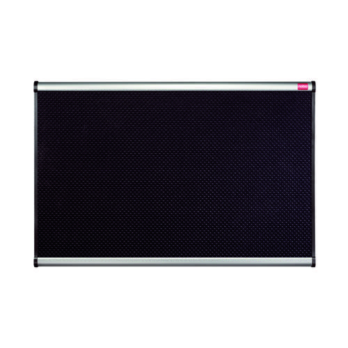 Nobo Foam Noticeboard Aluminium Frame 1200 x 900mm Black QBPF1290 by ACCO Brands, QT59816