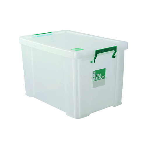 StoreStack Clear 2.6 Litre Storage Box W240 x D130 x H140mm RB00816