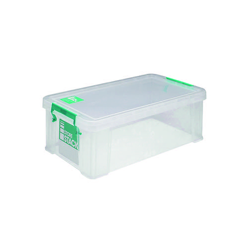 StoreStack 7.5 Litre Storage Box W250xD190xH160mm Clear RB00817
