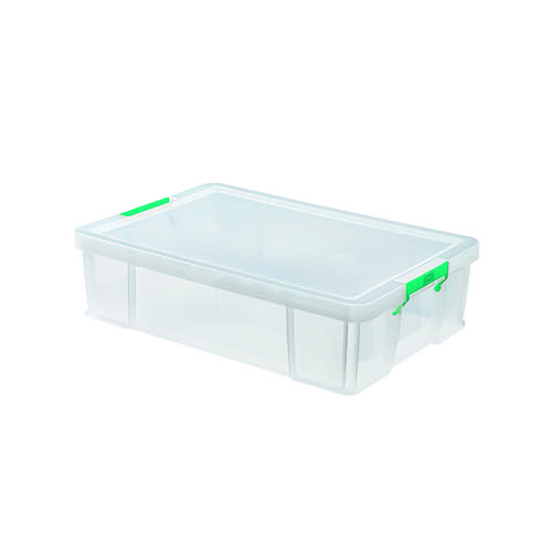 StoreStack 37 Litre Storage Box W680xD440xH170mm Clear RB75899