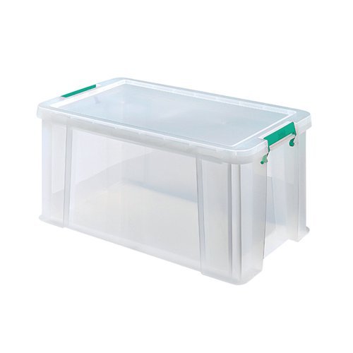 StoreStack 54 Litre Storage Box W640xD380xH310mm Clear RB77234