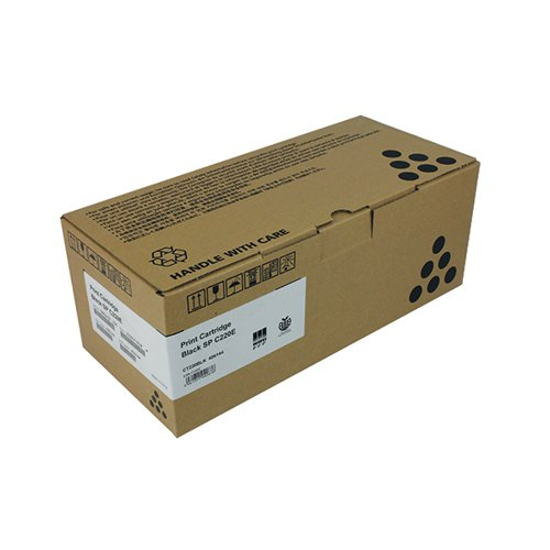 Ricoh SP C220E Black Toner Cartridge 406052
