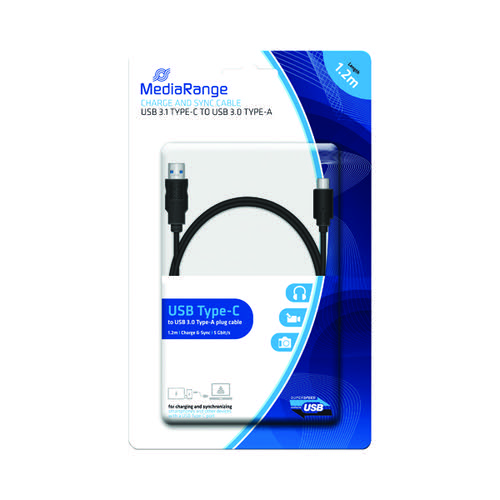 MediaRange Charge and Sync Cable USB 3.1 Type-C MRCS160