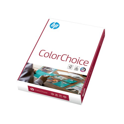 HP A4 Color Choice Paper 250gsm 250 Sheets CHPCC250X408