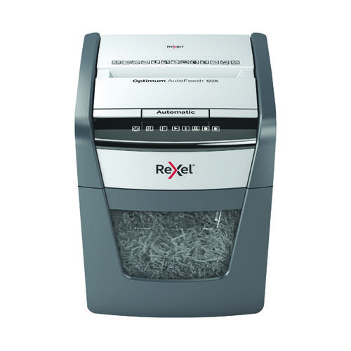 Rexel Optimum AutoFeed+ 50X Shredder 2020050X