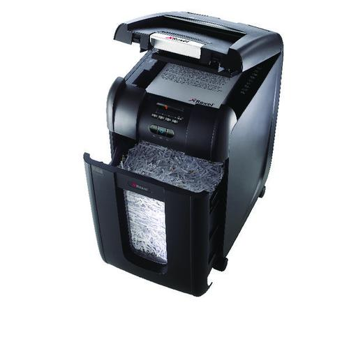 Rexel AutoPlus SmarTech 300X Cross-Cut P-4 Shredder 2103250S