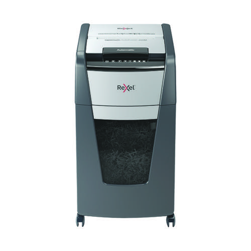 Rexel Optimum AutoFeed+ 225M Micro-Cut Shredder Black 2020225M