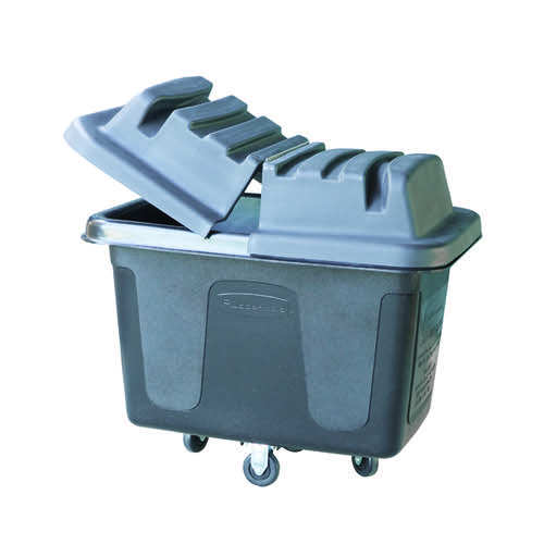 Rubbermaid Cube Truck 400mm Cubed Black FG461400BLA
