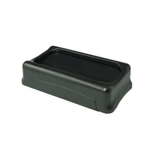 Rubbermaid Slim Jim Swing Lid Black 2673-60-BLA