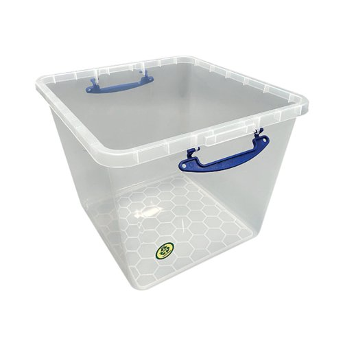 Really Useful 60 Litre Base Only Clear 60C