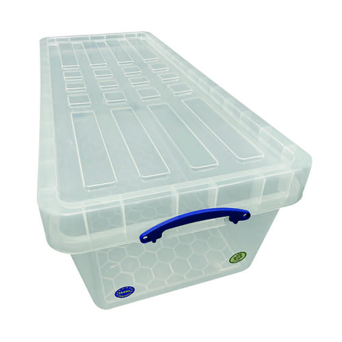 Really Useful 134 Litre Base Only Clear 134CXL
