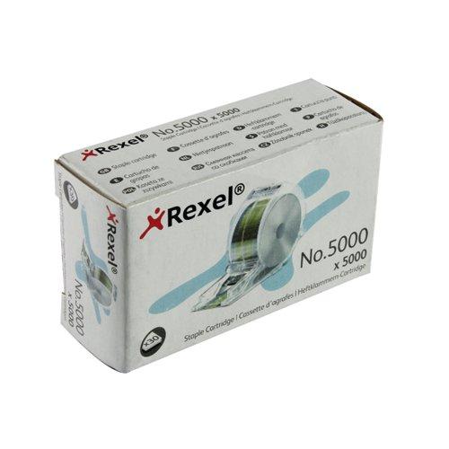 Rexel No 5000 Staples Cartridge 6mm (Pack of 5000) 06308