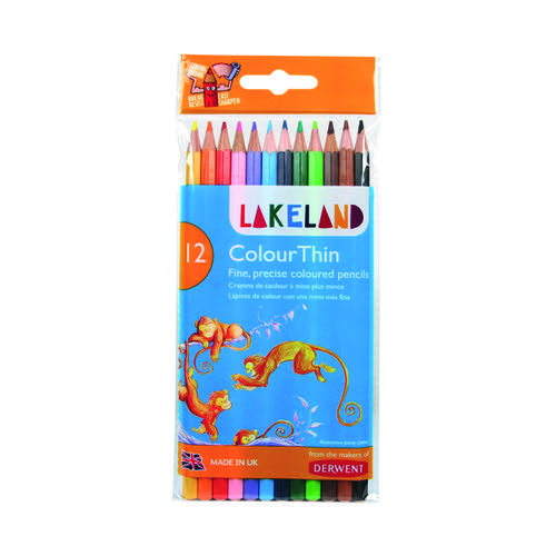 Derwent Lakeland Colouring Pencil Assorted (Pack of 12) 700077