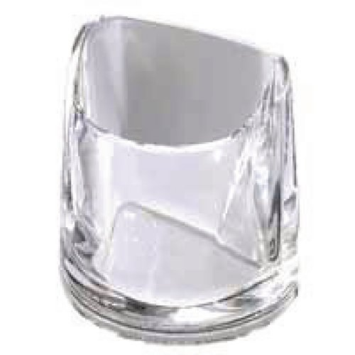 Rexel Nimbus Acrylic Pencil Cup Clear 2101502