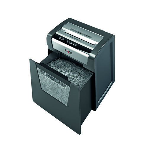 Rexel Momentum X415 Cross-Cut Paper Shredder Black 2104576