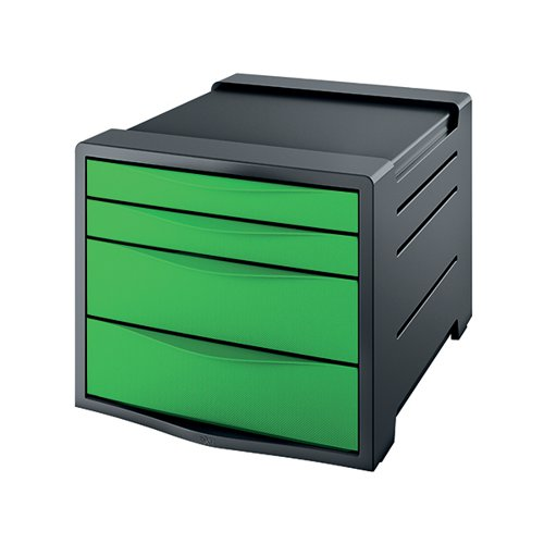 Rexel Choices Drawer Cabinet Green 2115612