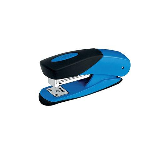 Rexel Choices Matador Half Strip Stapler 25 Sheet Blue 2115689