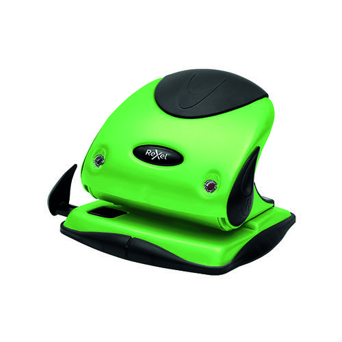 Rexel Choices P225 Hole Punch Green 2115694