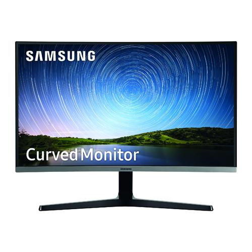 Samsung Full HD Curved LCD Monitor 27 Inch Black LC27R500FHUXEN
