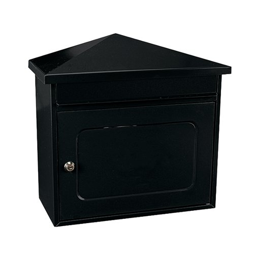 Worthersee Mail Box Black (W390 x D205 x H350mm) 371787