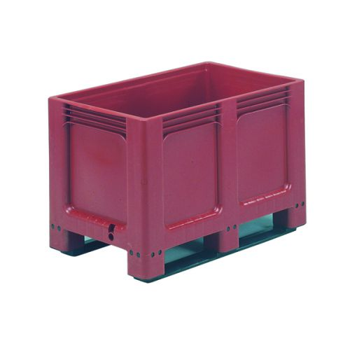 Pallet Box Solid Side Base 2 Runners 307765