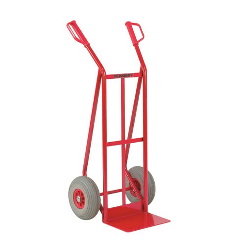 Red General Purpose Hand Truck Foam Tyres (Load capacity: 250kg) 308075