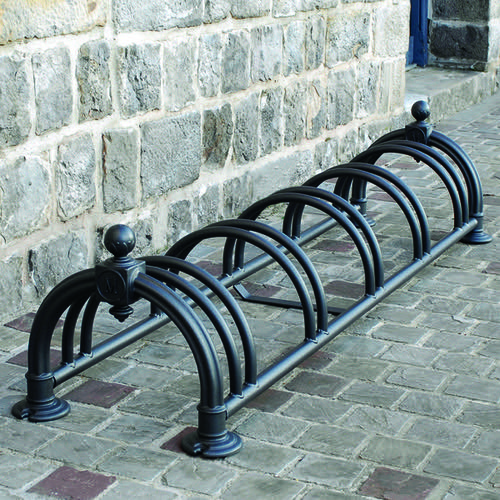 Cycle Rack Versaille Black (350 x 1600 x 430mm) 383767