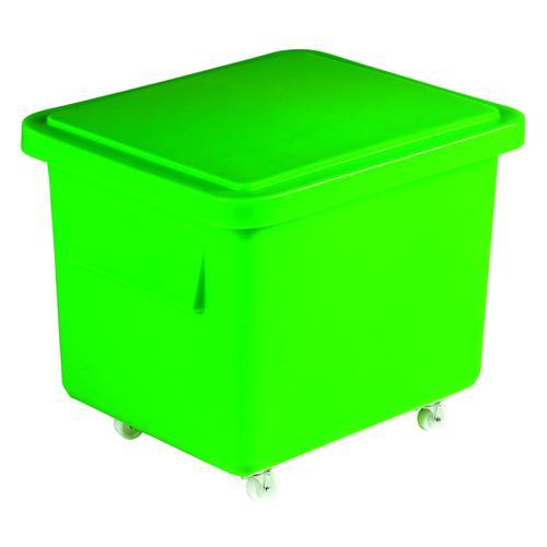 VFM Green Mini Mobile Storage Truck With Lid 308587