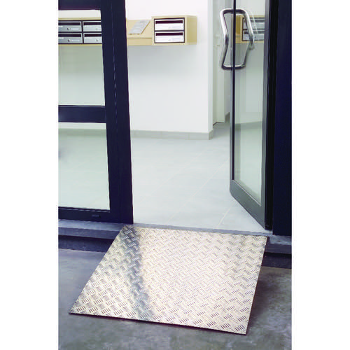 Aluminium Ramp 800x800mm Capacity 300kg 309607