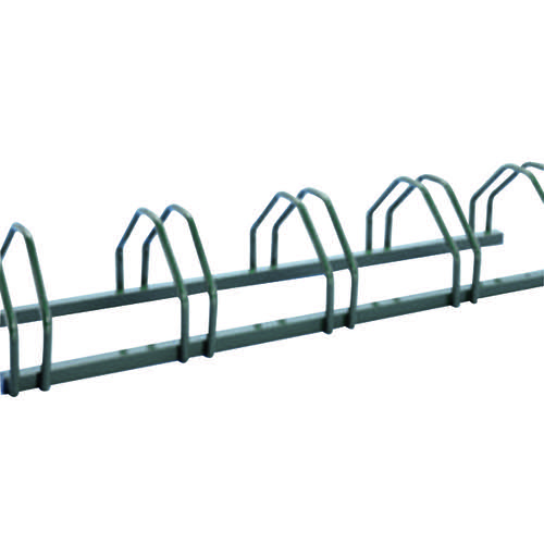 Cycle Rack 5-Bike Capacity Aluminium 309713