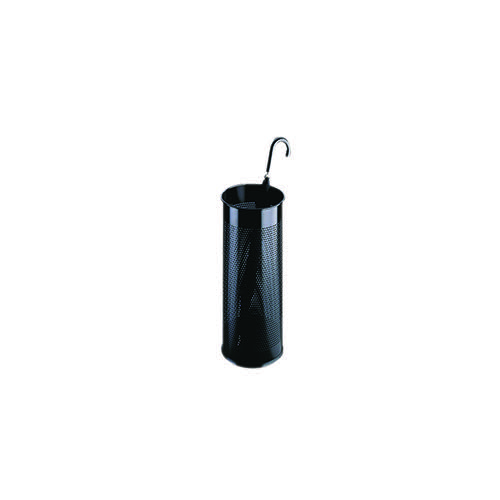 Umbrella/Waste Bin Perforated Black 310251
