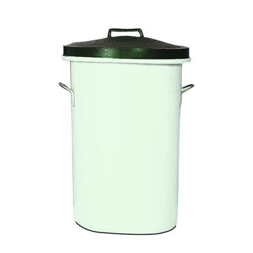 Heavyweight Cylindrical Storage Bin White (Dimensions: W476 x D476 x H763mm) 311966
