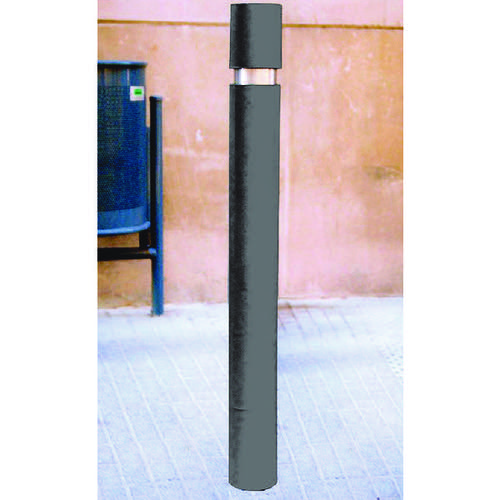 Slim Bollard H1000mm D95mm Black 315551