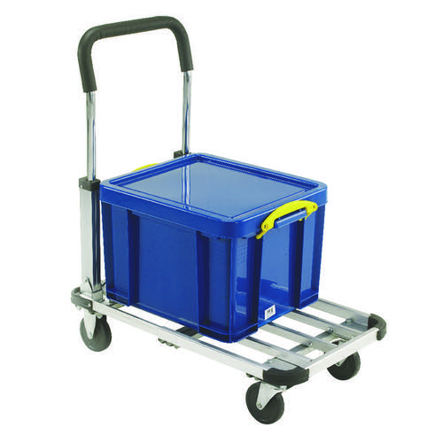 Folding/Extendable Trolley BP150 Black /Grey 317221