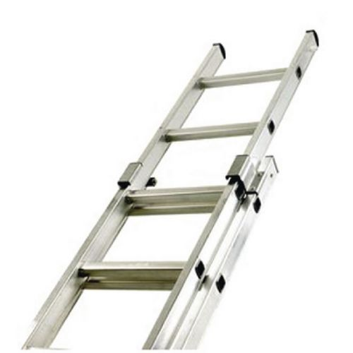 Aluminium Double Section 20 Rung Push Up Ladder 323141 - Office Monster