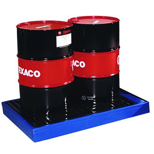 Flooring Sump Poly 2 Drum Capacity Blue 323360